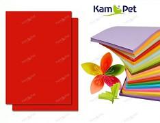 ČERVENÝ papír SYTÝ barevný A4