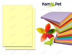 ŽLUTÝ SVĚTLE papír barevný PASTELOVÝ A4