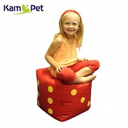 Hrací kostka sedací taburet KamPet Cube 48 RINS