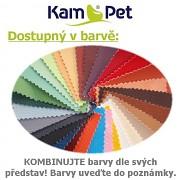 hrací kostka sedací vak pro děti taburet 35 KamPet ekokůže kombinace barev