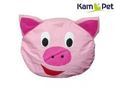 PRASÁTKO sedací vak pro děti zvířátko ZOO kolekce KamPet