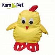 KUŘE KUŘÁTKO sedací vak pro děti zvířátko ZOO kolekce KamPet