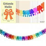 Velká girlanda MAŠLE na karneval či narozeninovou oslavu