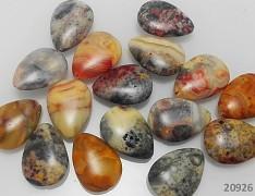 OCEÁNOVÝ JASPIS kapka baculatá přírodní minerál