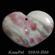 Turmalín VELKÝ přívěšek srdce na náhrdelník luxusní minerální kámen