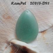 Zelený AVANTURÍN přívěšek KAPKA na náhrdelník minerální kámen