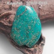 Tyrkysový Oceánový jaspis Variscit OBŘÍ přívěšek na náhrdelník minerální kámen
