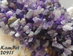 FIALOVÝ ametyst kameny přírodní minerál