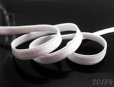 BÍLÁ podprsenková guma na ramínka 10mm, á 1m