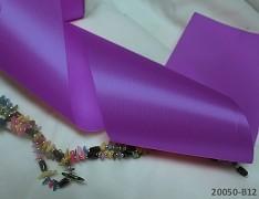 Fialová stuha atlasová 100mm široká stuha šerpa Fialová