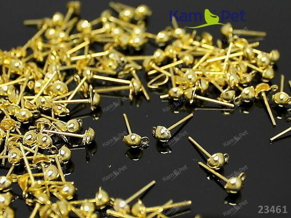 31882cf5d Zlaté náušnice puzety 12/5 náušnicový bižuterní komponent Nákupní ...