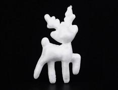 Polystyrénový sob výlisek z polystyrénu vánoční sob,  á 1ks
