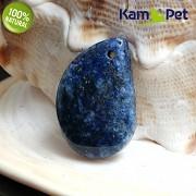 Modrý LAPIS lazuli přívěšek KAPKA na náhrdelník minerální kámen