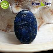 Modrý LAPIS lazuli přívěšek na náhrdelník minerální kámen