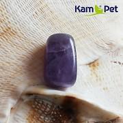 Fialový ametyst korálek přívěšek kámen na náhrdelník šperkový minerální kámen