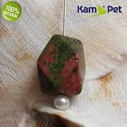 Unakit kámen na náhrdelník korálek šperkový přírodní minerál