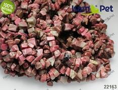 Růžový Rhodonit zlomky přírodní minerál korálky z minerálů