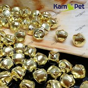 Zlaté rolničky 10mm vánoční ozdoba dekorace rolnička kovová