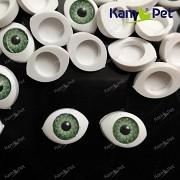 Zelené oči na výrobu panenek s zelenou duhovkou, bal. 2ks (kopie)