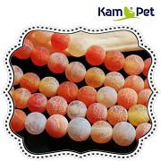 Oranžový achát dračí kuličky 6mm přírodní minerál AA kvalita, á 1ks