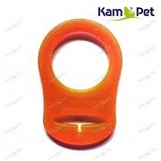 Oranžový redukční kroužek na dudlík silikonový redukce na dudlík