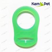 Zelený limetkový redukční kroužek na dudlík silikonový redukce na dudlík
