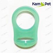 Zelený mintový redukční kroužek na dudlík silikonový redukce na dudlík