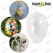 Průhledná baňka vajíčko k dekoraci koule zavěšení, á 1ks