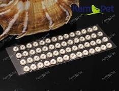 SMETANOVÉ IVORY samolepící kamínky perly 5mm