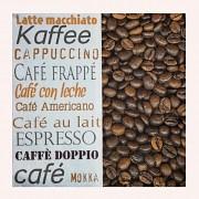 Kávové ubrousky KÁVA decoupage, 1ks