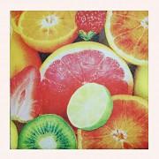 Ubrousky s ovocem ubrousek s letním ovocem, 1ks
