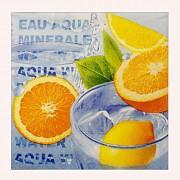 Pomeranče ubrousky s pomeranči, 1ks