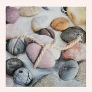 Ubrousky s kamínky ubrousek s oblázky, 1ks