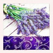 Levandulové fialové ubrousky levandulemi s levandulí, 1ks