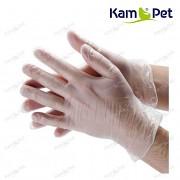Ochranné rukavice vinylové jemné