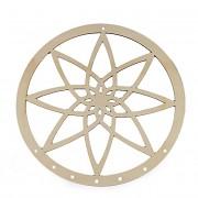 Dřevěný kruh na lapač snů 25cm