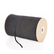 ČERNÁ pruženka guma prádlová 4mm ekonomy, á 1m