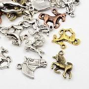 Přívěšky kůň koně bižuterní kovodíl přívěšek