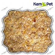 Hrubý kukuřičný šrot pro drůbež, králíky, ovce, kozy, koně, 1kg