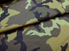 Kupón 202 látka maskáčovina army 100% bavlna ATEST DĚTI