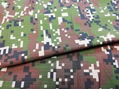 Kupón 187 látka maskáčovina army 100% bavlna ATEST DĚTI