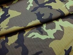 Kupón 212 látka maskáčovina army 100% bavlna ATEST DĚTI