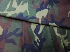 Kupón 316 látka maskáčovina army 100% bavlna ATEST DĚTI