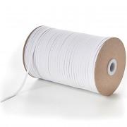 SKLADEM OD 15.4.2020! BÍLÁ pruženka guma prádlová 4mm SUPER KVALITA, role 200m