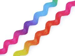 Ozdobná lemovka hadovka DUHOVÁ, á 1m