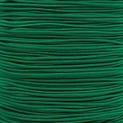 ZELENÁ TMAVĚ guma kulatá klobouková 1,5mm pruženka