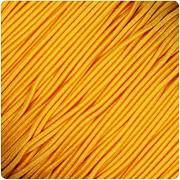 ŽLUTÁ TMAVĚ guma kulatá klobouková 1mm pruženka