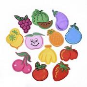 Nažehlovačka OVOCE třešně, banány, meloun, jahody, hrušky, ananas