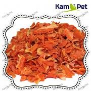 Sušená mrkev plátky doplňkové krmivo, 1kg