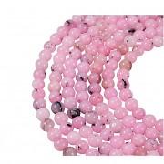 Přírodní JASPIS růžový cherry kuličky 6mm  korálky z minerálů